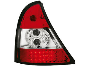 Renault-Clio-II-LED-Tail-Lights-red-clear