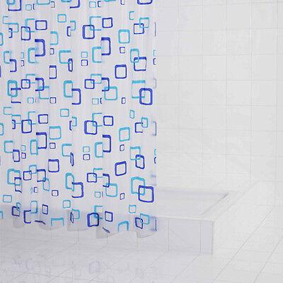 Folien Duschvorhang Retro 180 x 200 cm, chic & preiswert, neu & OVP