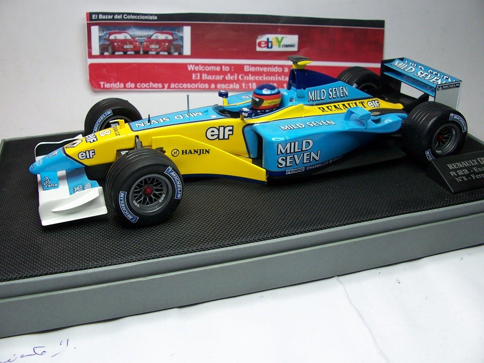 Renault F1 R202 RS23 Alonso  Mild 7 - 2018 Test driver  car  - UH - 3L 050