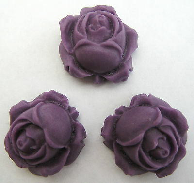 ROSE BUDS (CHOOSE COLOUR) handmade edible sugar cake topper decorations flowers