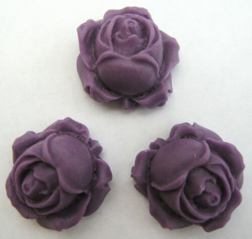 ROSE BUDS (CHOOSE COLOUR) handmade edible sugar cake topper decorations flowers