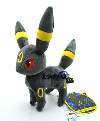 "8"" New Pokemon UMBREON Plush Rare Soft Toy Doll^PC1853"