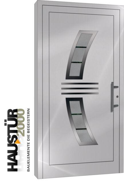 Aluminium Haustür Alu Haustüren nach Maß Mod. 5204 FF nach Maß!