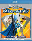 Megamind (Blu-ray Disc, 2012, Canadian; 3D)