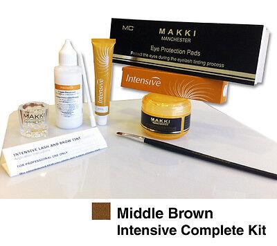 Professional Intensive Eyelash & Eyebrow Dye Tint Complete Tinting Kit 14 Colour