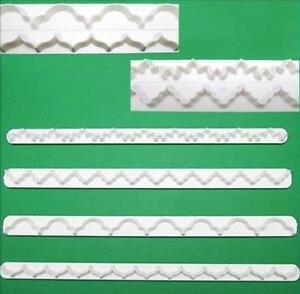 4x-Cake-Ribbon-Decorating-Sugarcraft-Cutter-Fondant-DIY-Kitchen-Craft-Tool-Mold