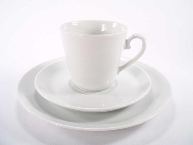 Kaffeegedeck 3 tlg. weiß Winterling Marken Porzellan