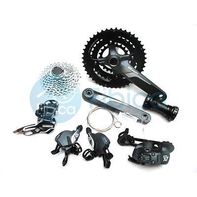 New SRAM X7 X.7 MTB Bike Group set 6pcs 30/10x3 speed Derailleur+Crank+Shifters