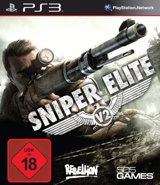 SONY PS3 Sniper Elite V2 PlayStation englisch OVP uncut gebraucht günstig selten