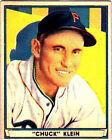 1941 Play Ball Chuck Klein #60 Baseball Card