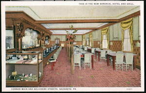 Image Is Loading Nazareth Pa 039 New Baronial Hotel Amp