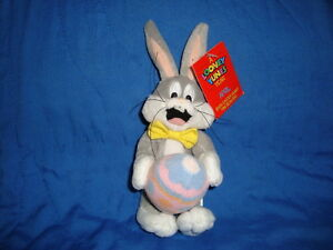 Looney Tunes Year April Mini Beanbag Bugs Easter Bunny