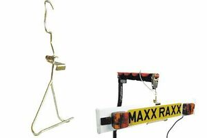 maxxraxx bike rack light board hanger bracket cycle lightboard fixing