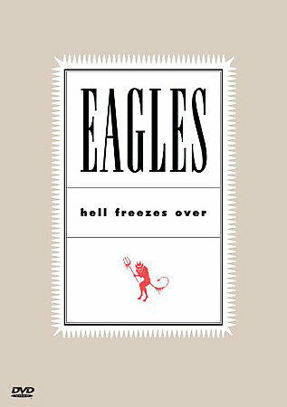 Eagles - Hell Freezes Over (DVD, 2000) LIKE NEW CONDITION FREE FAST POSTAGE