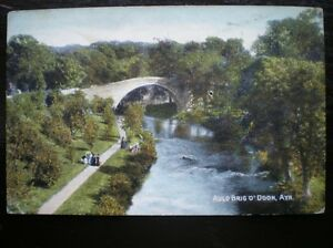 POSTCARD AYRSHIRE AYR AULD BRIG O DOON PATH AND BRIDGE OVER RIVER DOON - Tadley, United Kingdom - Full Refund less postage if not 100% satified Most purchases from business sellers are protected by the Consumer Contract Regulations 2013 which give you the right to cancel the purchase within 14 days after the day you receive th - Tadley, United Kingdom