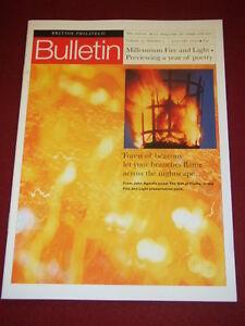 UK-PHILATELIC-BULLETIN-MILLENIUM-FIRE-LIGHT-Jan-2000-Vol-37-5