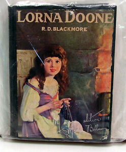 1921 Lorna Doone Hardcover Book-Madge Bellamy Edition w movie photos (L5553)