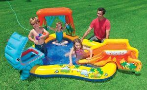 Intex-Dinosaur-Play-Center-Inflatable-Kids-Set-amp-Swimming-Pool