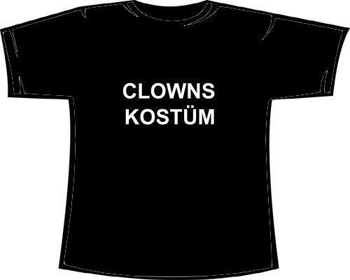 Clownskostüm Clown Damen Girlie-Fun Shirt Kostüm Fasching Karnev