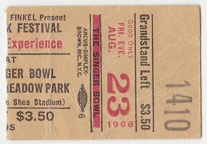 JIMI-HENDRIX-amp-JANIS-JOPLIN-1968-Concert-Ticket-Singer-Bowl-Ultra-Rare