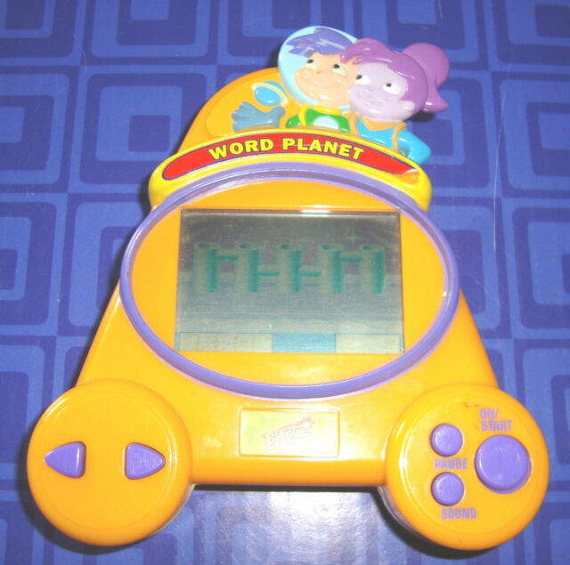 Word Planet Electronic Handheld Travel Game Blaster Learning Systems