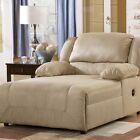 Ashley Furniture Industries Hogan Khaki 2-Arm Pressback Chaise (5780004)