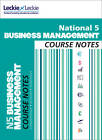 Course Notes: National 5 Business Management Course Notes by Leckie & Leckie, Lee Coutts (Paperback, 2013)