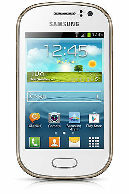 Samsung Fame GT-S6810P White (Unlocked) Smartphone in perfect working order