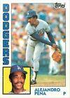 1984 Topps Alejandro Pena #324 Baseball Card
