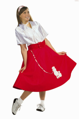 1950S 50/'S WOMAN POODLE SKIRT SCARF ADULT SOCK HOP DIVA COSTUMES PLUS SIZE 86038