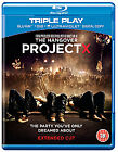 Project X (Blu-ray and DVD Combo, 2012, 2-Disc Set)