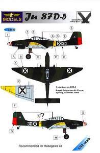 LF-Models-Decals-1-48-JUNKERS-Ju-87D-5-STUKA-Royal-Bulgarian-Air-Force