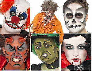 HALLOWEEN-MAKE-UP-FACE-PAINT-KITS-EVIL-CLOWN-ZOMBIE-SKELETON-WITCH-VAMPIRE-DEVIL