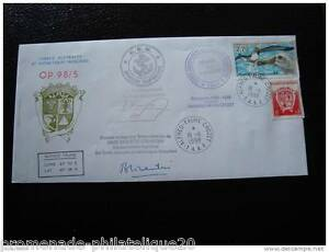 TAAF-enveloppe-16-11-98-timbre-yt-n-172-et-229-cy4