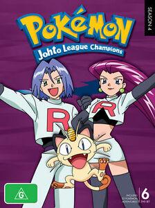 Pokemon-Johto-League-Champions-Season-4-DVD-2010-6-Disc-Set-Like-New