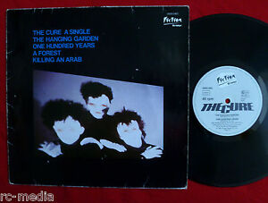 THE-CURE-A-Single-Hanging-garden-Very-Rare-German-only-10-034-EP