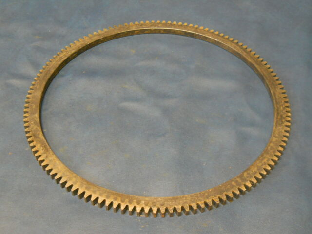 Jeep Willys CJ2A CJ3A CJ3B early M38 NOS fly wheel ring gear 124 teeth