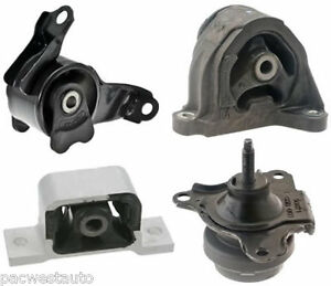 02 03 04 05 06 acura rsx engine motor mount set of 4 ebay Acura motor mounts
