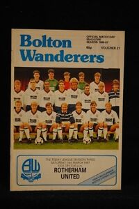 PROGRAMME-D3-Bolton-Wanderers-vs-Rotherham-United-14-Mar-1987