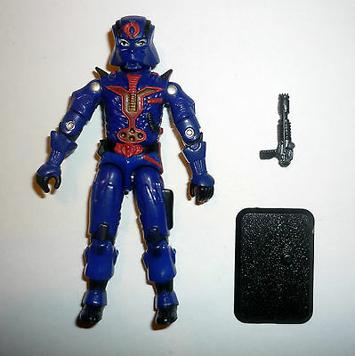 GI JOE COBRA COMMANDER Vintage Action Figure COMPLETE 3 3/4 C9+ v8 1997