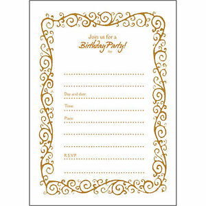 10 50th Birthday Party Invitations Fill Ins Bpfi 010