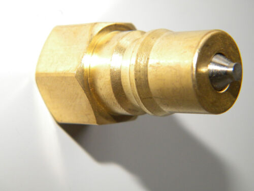 """Carpet Cleaning  1//4/"""" Brass Male Quick Disconnect"""