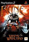 Rune - Viking Warlord (Sony PlayStation 2, 2001, DVD-Box)