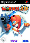 Worms 3D (Sony PlayStation 2, 2005, DVD-Box)