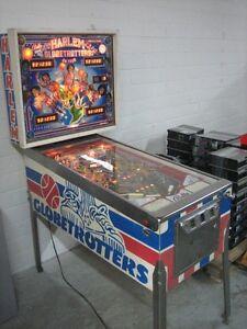 O500-Vintage-1978-Bally-039-s-Harlem-Globetrotters-on-Tour-Pinball-Game-Machine