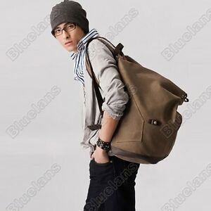 Korean-Mens-Travelling-Shoulder-Bag-Canvas-Bags-Leisure-Large-Capacity-Backpack
