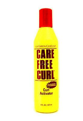 SOFTSHEEN CARSON CARE FREE CURL CURL ACTIVATOR  8 FL. OZ.