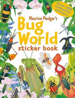 """""""AS NEW"""" Maurice Pledger, Bug World Sticker Book Book"""