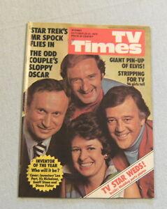 TV-TIMES-MAGAZINE-October-25-31-1975-ELVIS-PINUP-MR-SPOCK-ARTICLE