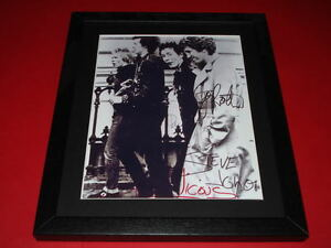THE-SEX-PISTOLS-BAND-SIGNED-MOUNTED-amp-FRAMED-10X8-PP-REPRO-PHOTO-vicious-lydon